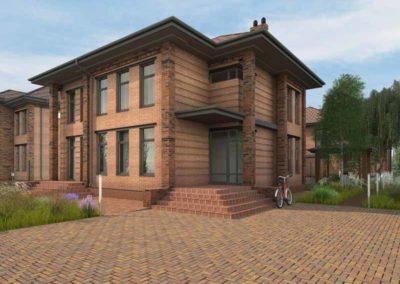 Проект двухэтажного дома 150 метров
