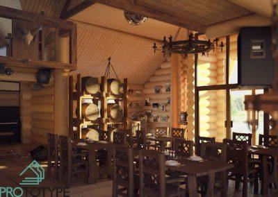 Входная зона ресторана