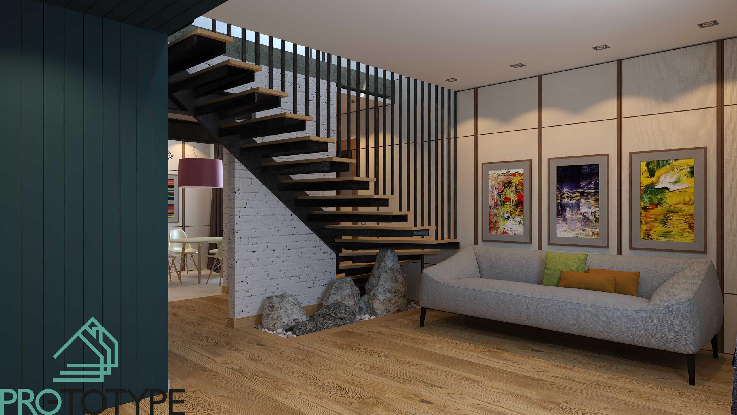 Дизайн общей гостиной