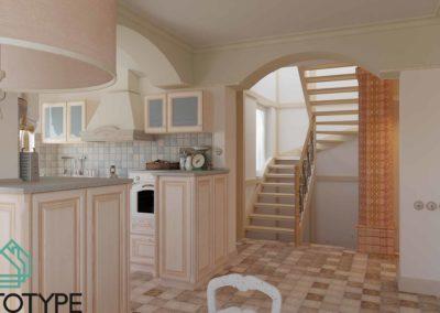 Дизайн интерьера в доме в стиле Прованс