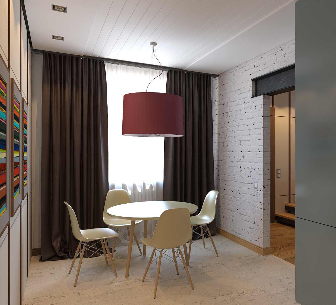 Дизайн столовой зоны кухни