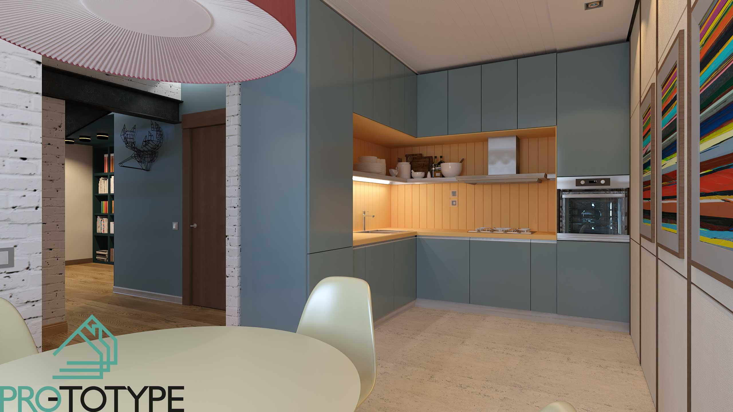 Кухня угловая современном стиле