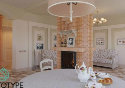 Столовая и гостиная в дизайне интерьера