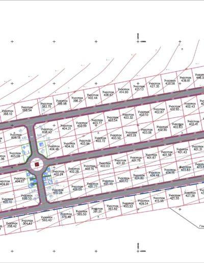 Проект Планировки коттеджного поселка