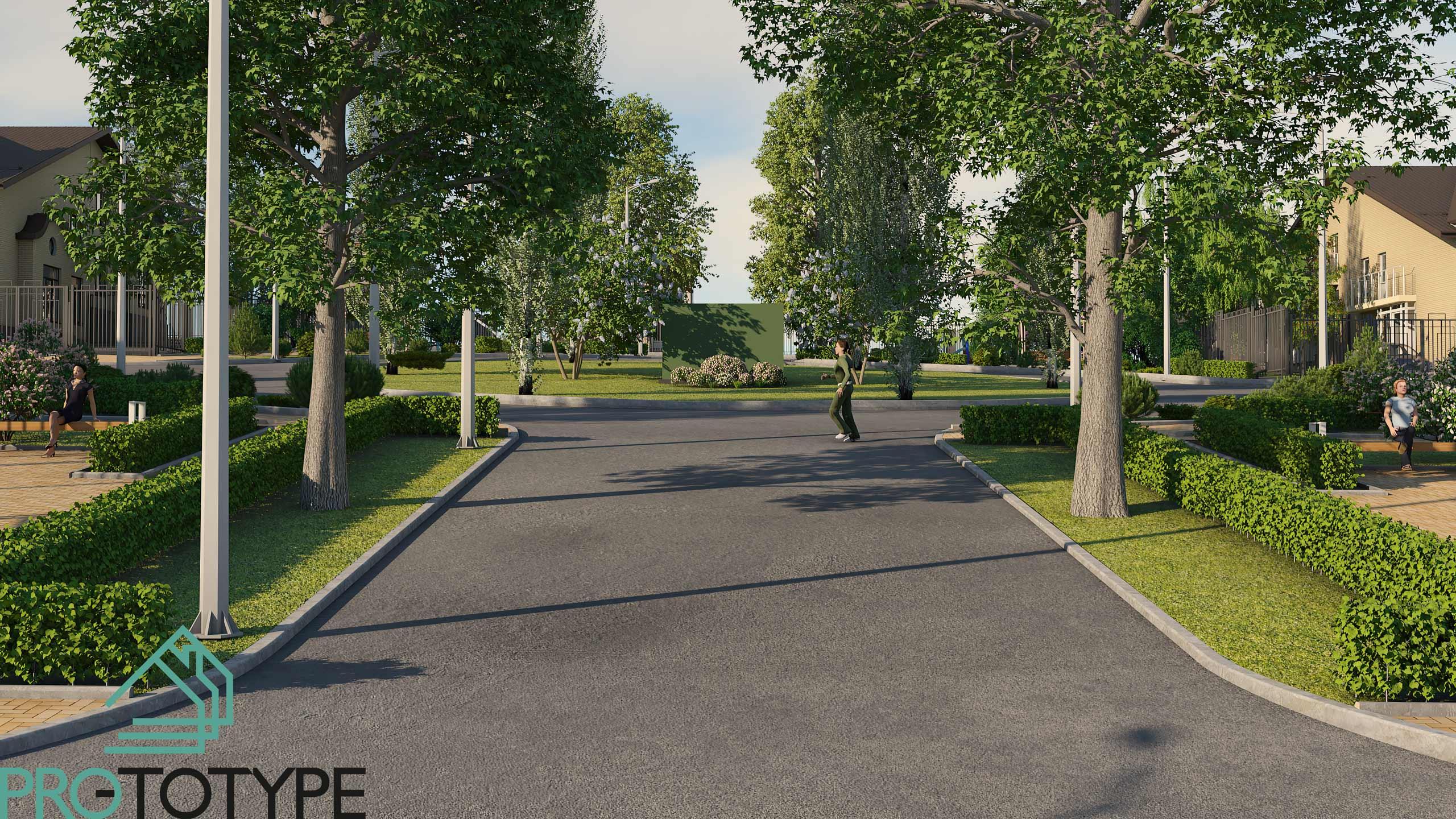 Проект общественной зоны