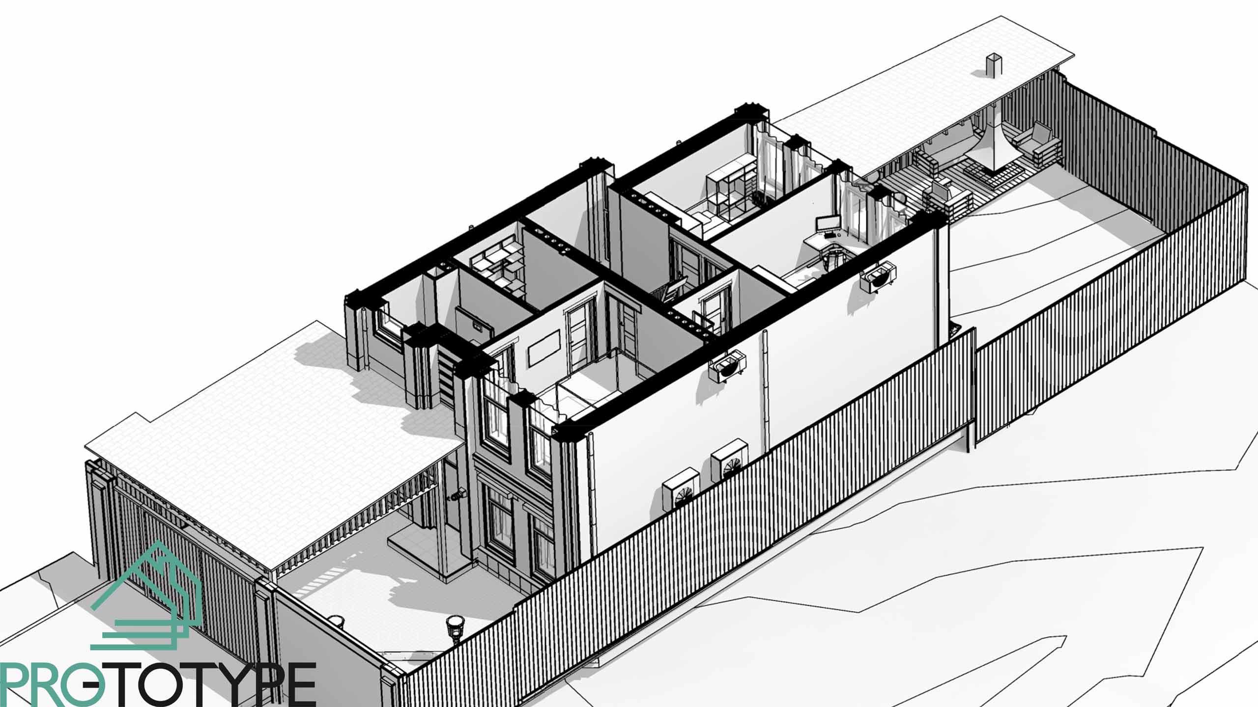 Планировка второго этажа дома на небольшом участке