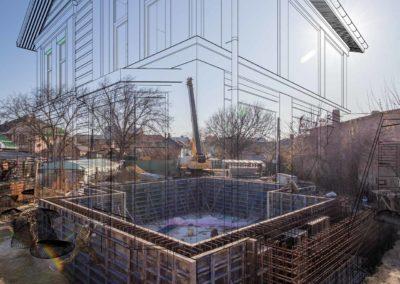 Дополненная реальность при строительстве частного дома