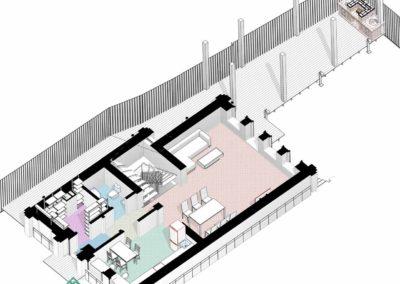 Эскизный проект дома с учетом ландшафтного дизайна участка