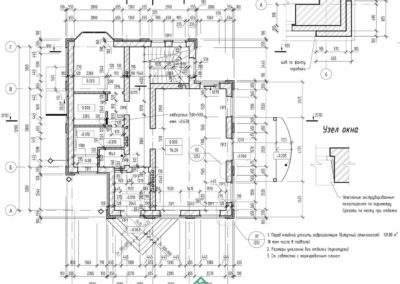 Кладочный план кирпичного частного дома