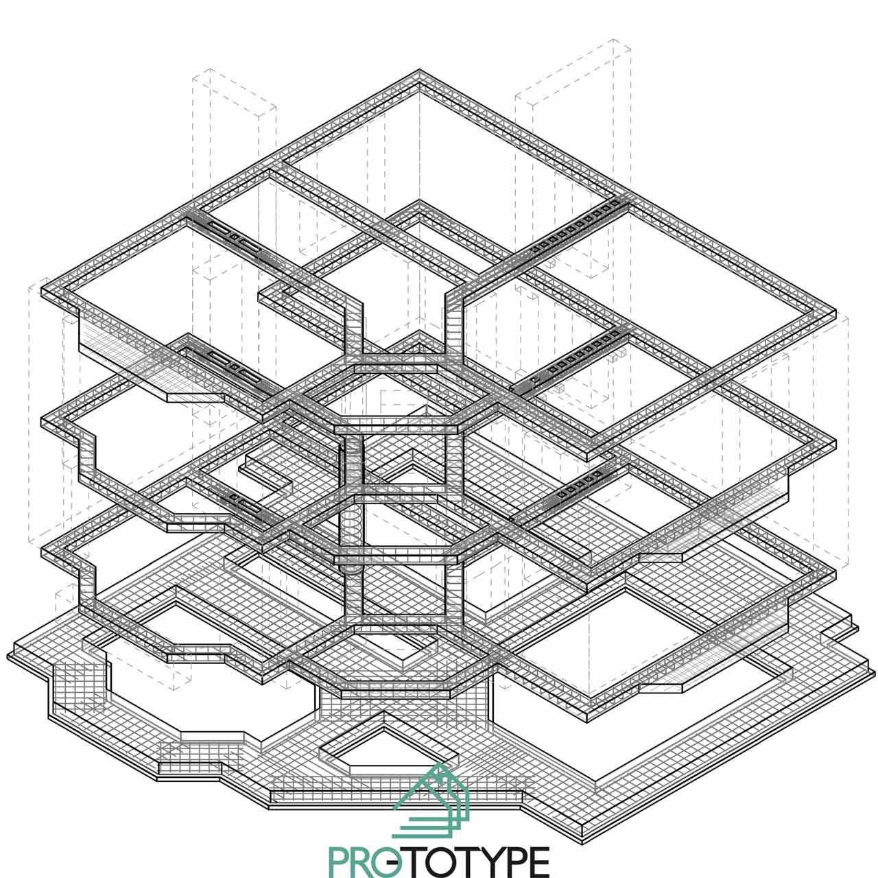 Несущие конструкции частного дома