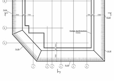 План котлована частного дома