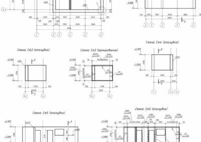 Армирование монолитных стен фундамента частного дома
