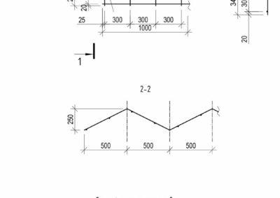Подробные чертежи гнутого арматурного каркаса для частного дома