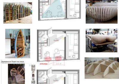 Набор референсов в качестве идей дизайна квартиры