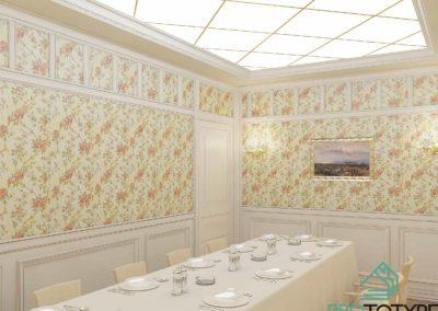 Дизайн интерьера банкетного помещения