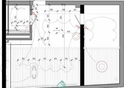 Схема подключения освещения в дизайн проекте