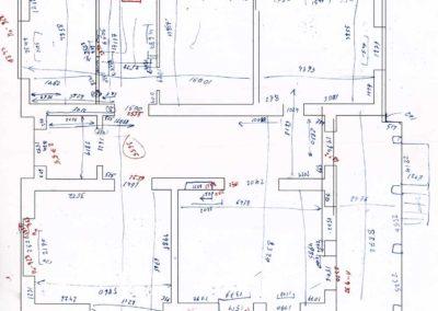 Обмерные чертежи производят после строительства дома что бы уточнить качество выполненных строительных работ