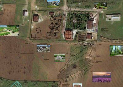 Референсы и концепция ландшафтного дизайна территории