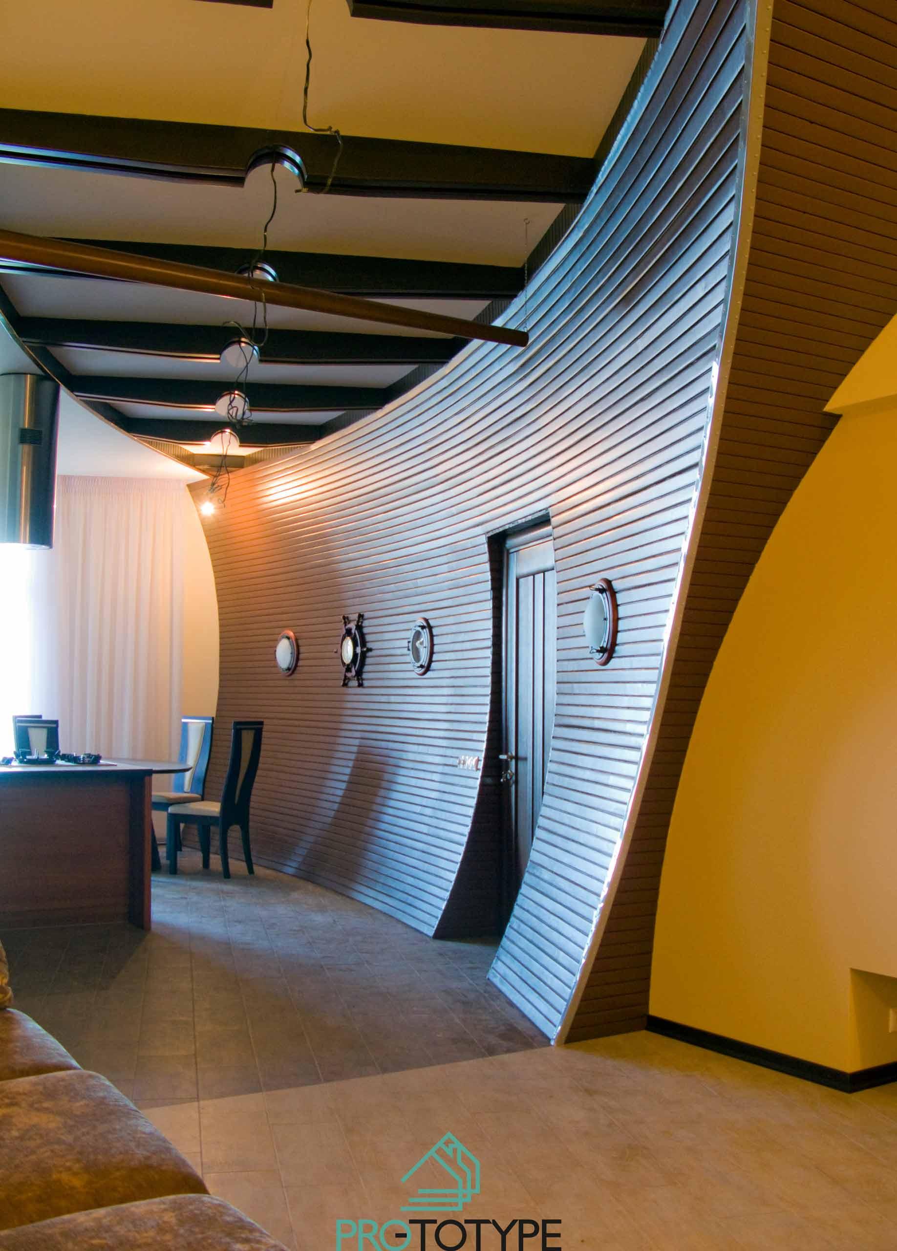 Морская тематика в дизайн интерьера квартиры