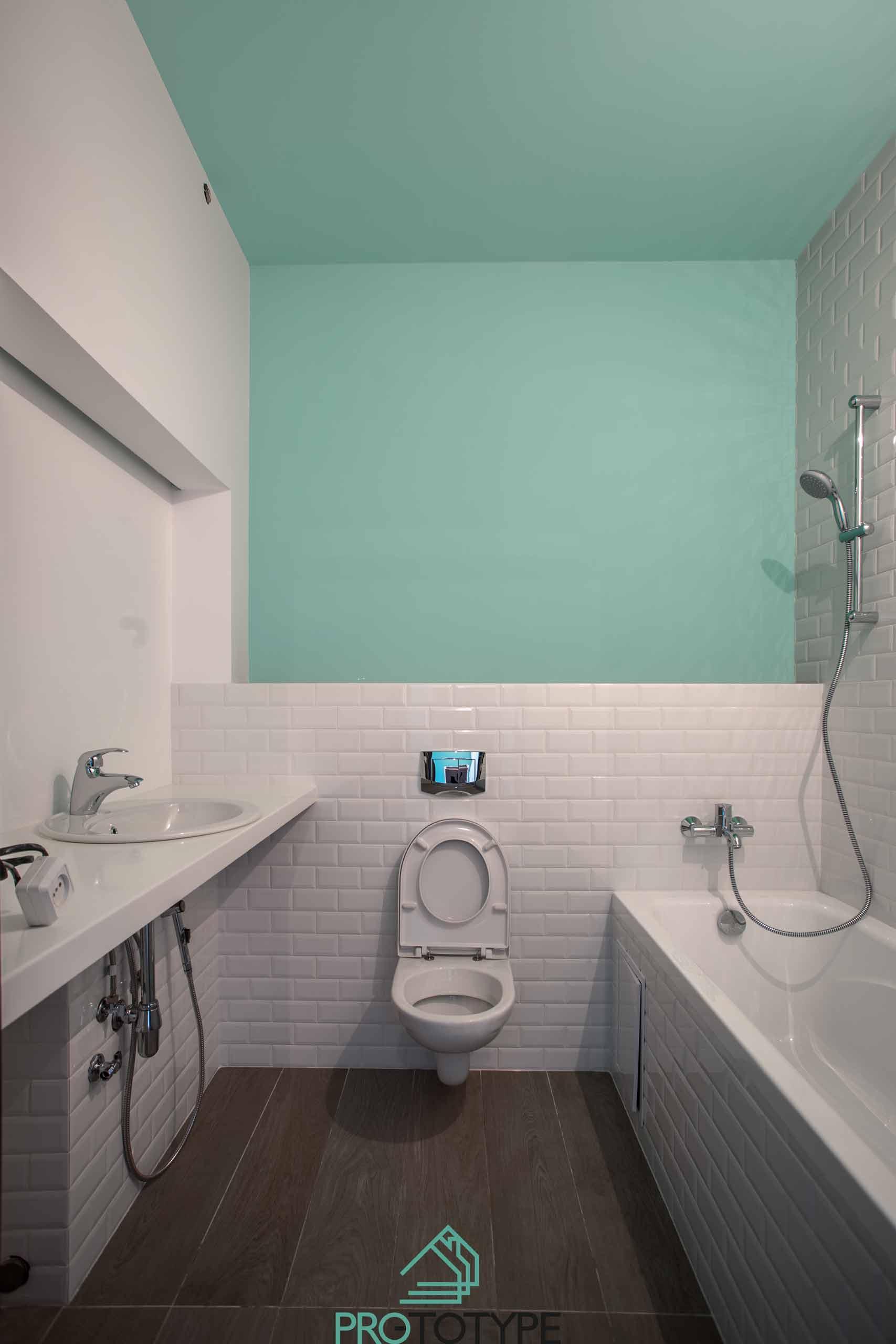 Реализация ванной комнаты по проекту ПРО-ТОТИП