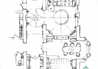 Планировка дизайна частного дома