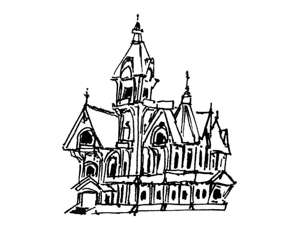 Архитектурный стиль викторианский стиль