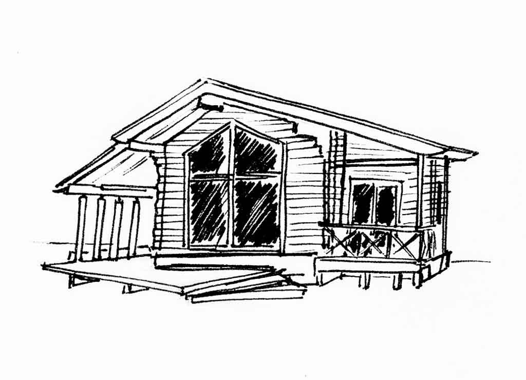Архитектурный стиль финский дом