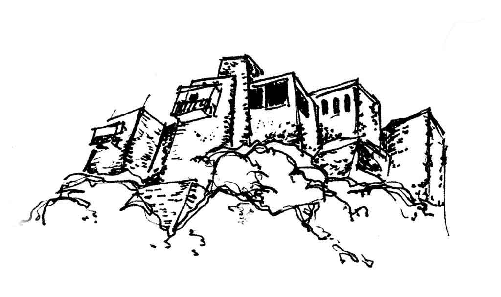 Кавказкие народные дома