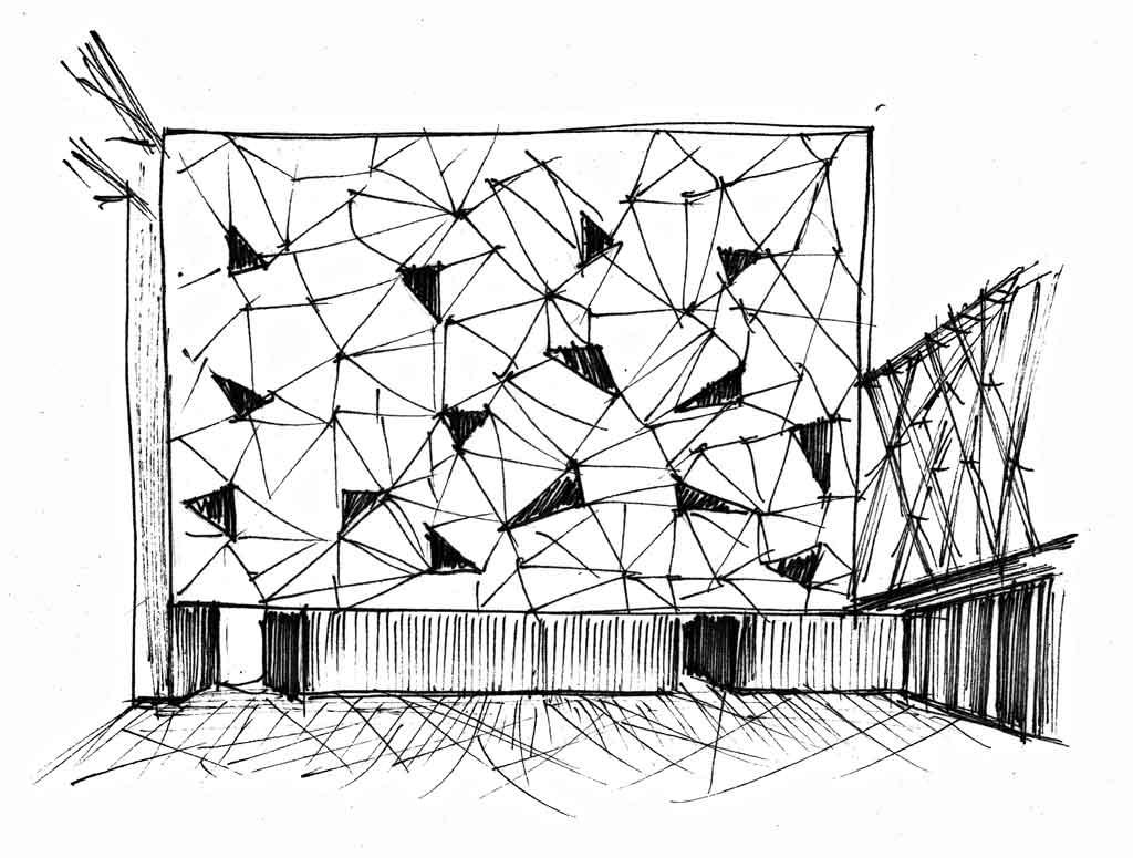 Параметрическая архитектура из патернов